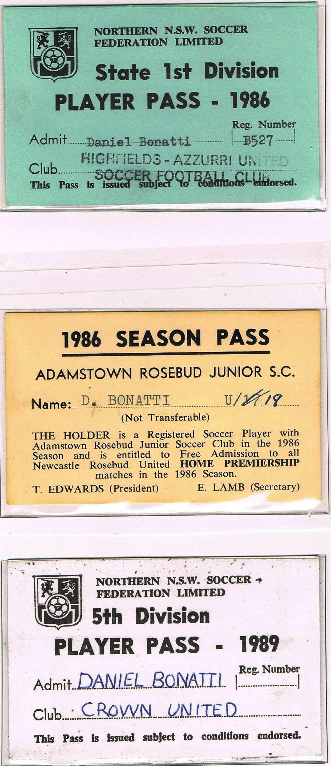 Player Passes